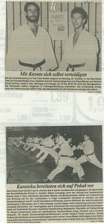 1988 training landeskader